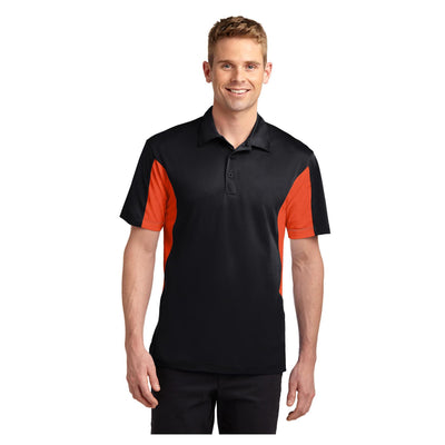 Sport-Tek Side Blocked Micropique Sport Wick Polo