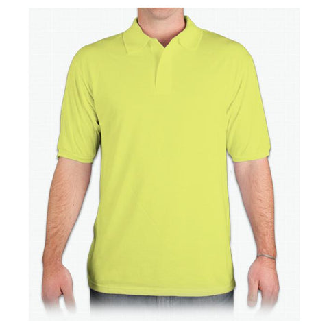 Jerzees Mens 5.6 oz. 50/50 Jersey Polo with SpotShield