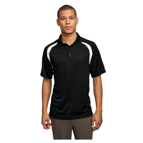 Sport-Tek Dry Zone Colorblock Raglan Polo