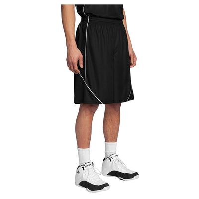 Sport-Tek PosiCharge Mesh Reversible Spliced Short