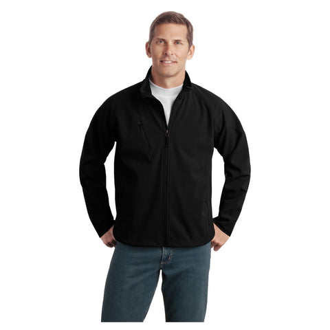 Port Authority Tall Textured Soft Shell Jacket