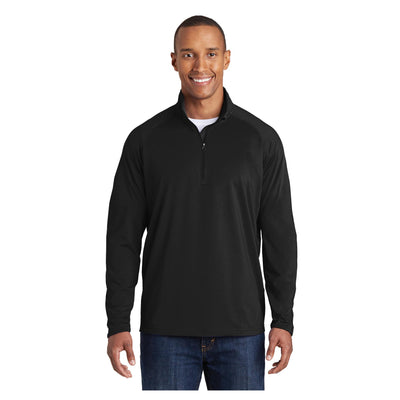 Sport-Tek Tall Sport Wick Stretch 1/2 Zip Pullover