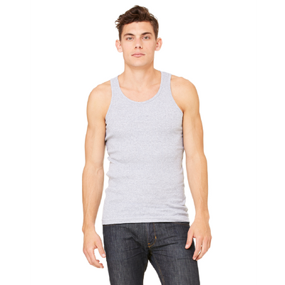 Bella + Canvas Canvas Mens Rib Tank
