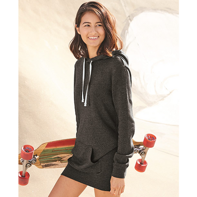 Independent Trading Co Women's Special Blend Hooded Pullover Dress