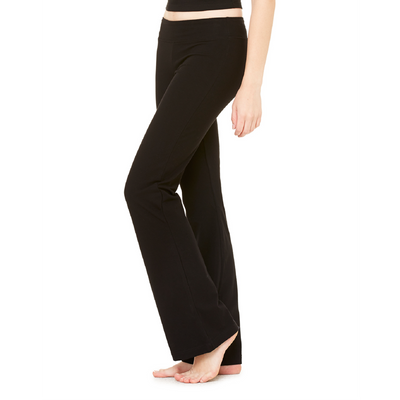 Bella + Canvas Bella Ladies Cotton/Spandex Yoga Pant