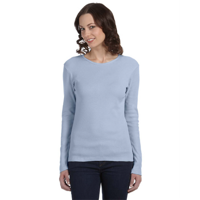 Bella + Canvas Bella Ribbed Long-Sleeve T