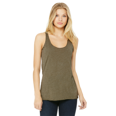 Bella + Canvas Bella Sheer Triblend Racerback