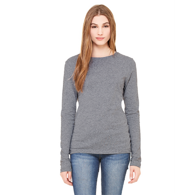 Bella + Canvas Bella Jersey Long-Sleeve Crew