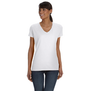 Fruit of the Loom Ladies HD V Neck T