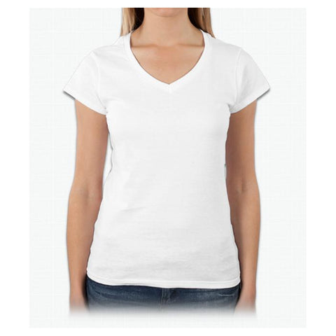 Gildan Ladies V-Neck