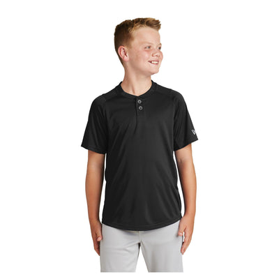 New Era Youth Diamond Era 2 Button Jersey