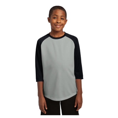 Sport-Tek Youth PosiCharge Baseball Jersey
