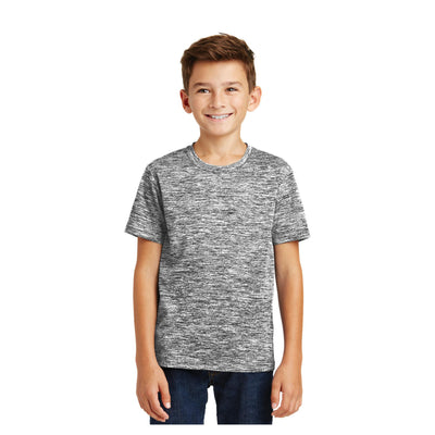 Sport-Tek Youth PosiCharge Electric Heather Tee