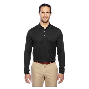 Adidas Mens climalite Long Sleeve Polo