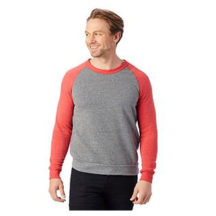 Alternative Apparel Champ Colorblock Eco Fleece Sweatshirt