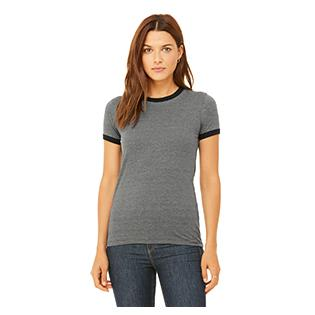 Bella + Canvas Ladies Jersey Short Sleeve Ringer T-Shirt