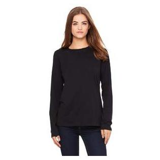Bella + Canvas Ladies Relaxed Jersey Long Sleeve T-Shirt