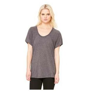 Bella + Canvas Ladies Flowy Raglan T-Shirt