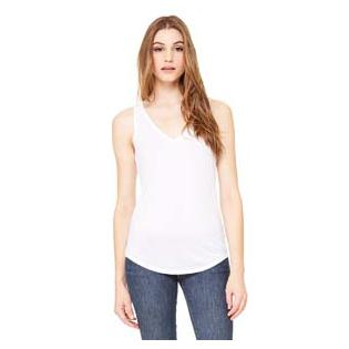 Bella + Canvas Ladies Flowy V Neck Tank