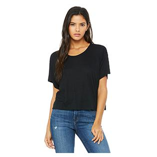 Bella + Canvas Ladies Flowy Boxy T-Shirt