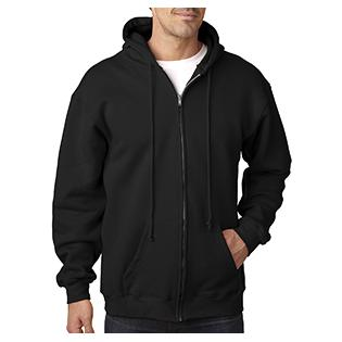 Bayside Adult Adult Hooded Full Zip Fleece