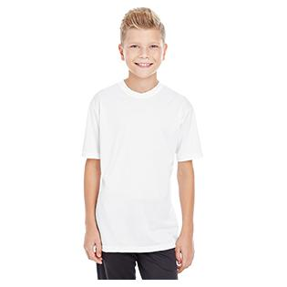 C2 Sport Youth 100% Poly Performance Short Sleeve T-Shirt