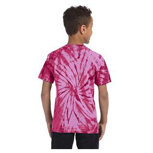 Tie-Dye Youth Cotton Spider Tie Dye T-Shirt