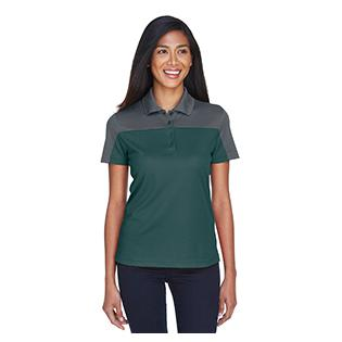 Ash City - Core 365 Ladies Balance Colorblock Performance Piqu Polo