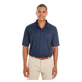 Ash City - Core 365 Mens Express Microstripe Performance Piqu Polo