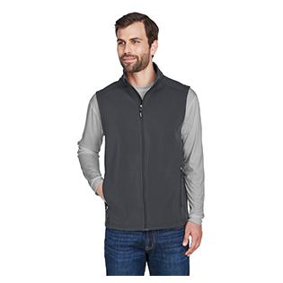 Ash City - Core 365 Mens Cruise Two Layer Fleece Bonded Soft Shell Vest