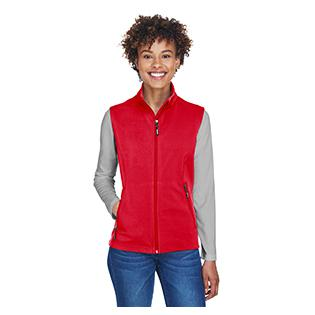 Ash City - Core 365 Ladies Cruise Two Layer Fleece Bonded Soft Shell Vest