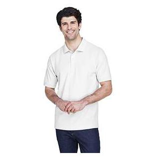Devon & Jones Mens Tall Pima Piqu Short Sleeve Polo
