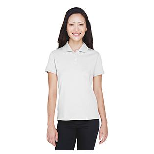 Devon & Jones Ladies Solid Perfect Pima Interlock Polo