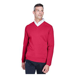 Devon & Jones Mens V Neck Sweater