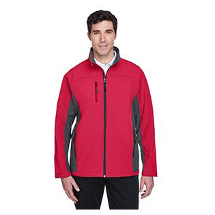 Devon & Jones Mens Soft Shell Colorblock Jacket