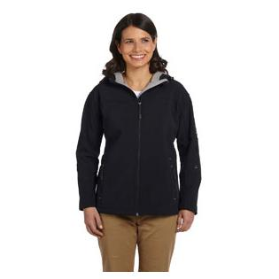 Devon & Jones Ladies Soft ShellHooded Jacket