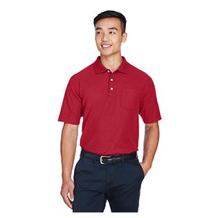Devon & Jones Mens DRYTEC20 Performance Pocket Polo