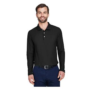 Devon & Jones Mens DRYTEC20 Performance Long Sleeve Polo