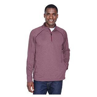 Devon & Jones Mens Stretch Tech Shell Compass Quarter Zip