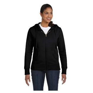 Econscious Ladies 9 oz. Organic/Recycled Full Zip Hood