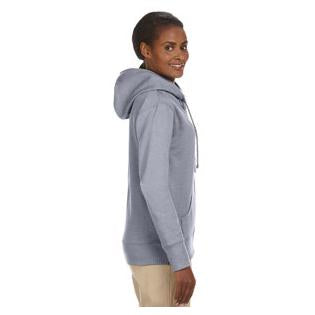 Econscious Ladies 7 oz. Organic/Recycled Heathered Fleece Full Zip Hood