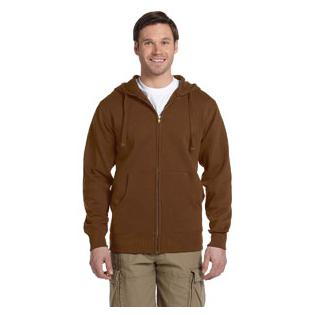 Econscious Mens 9 oz. Organic/Recycled Full Zip Hood