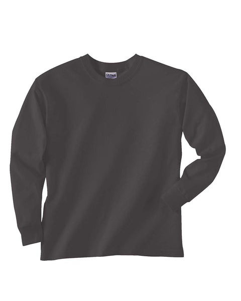 Gildan Youth Ultra Cotton Long-Sleeve T-Shirt