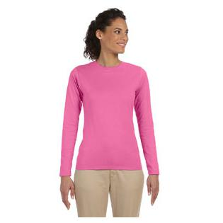 Gildan Softstyle Ladies Junior Long Sleeve T