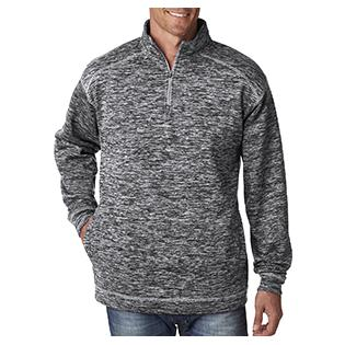 J America Adult Cosmic Poly Fleece 1/4 Zip