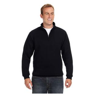 J America Adult Heavyweight Fleece Quarter Zip
