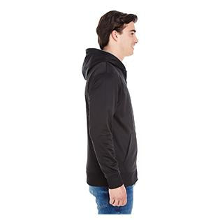J America Adult Glow Full Zip Hood