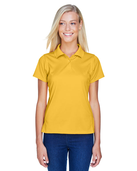 Harriton Ladies 4 oz. Polytech Polo