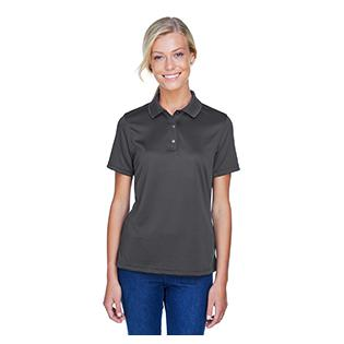 Harriton Ladies Advantage IL Snap Placket Performance Polo