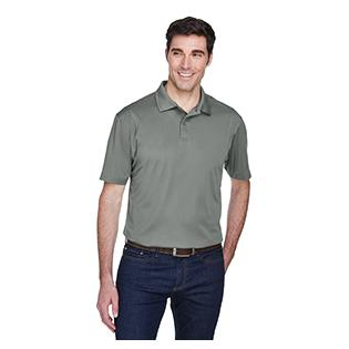 Harriton Mens Micro Piqu Polo